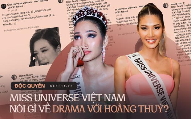 Đại diện Miss Universe VN nhận lỗi sai sót sau drama với Hoàng Thuỳ, làm rõ tin đồn phân biệt đối xử giữa các nàng hậu-1