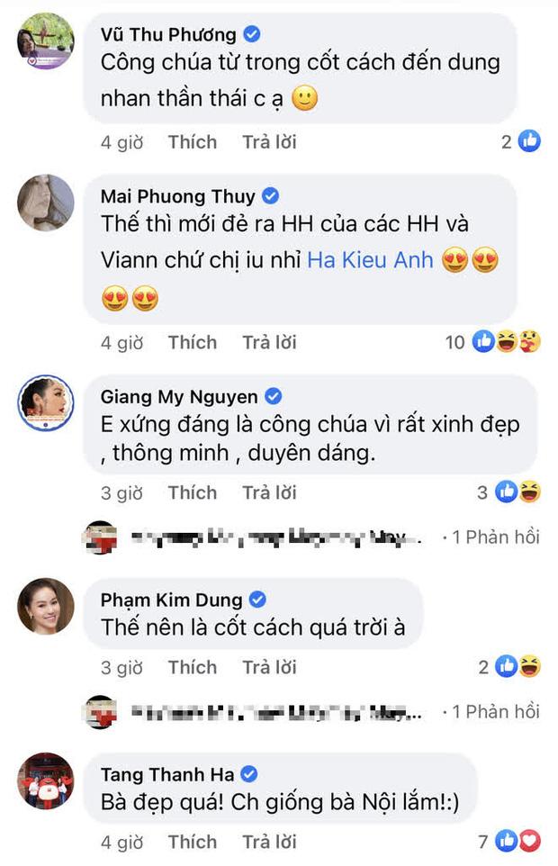Hoa hậu Hà Kiều Anh hé lộ gia thế khủng: Là công chúa đời thứ 7, cháu vua chúa, Hà Tăng và dàn sao thốt lên điều này-5