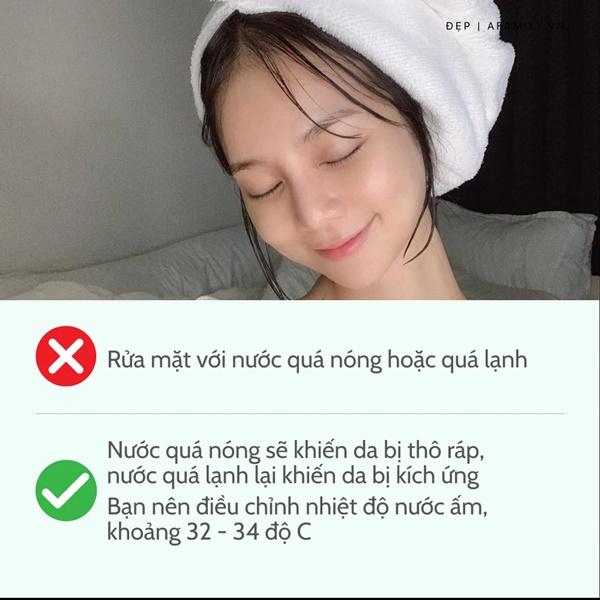 6 sai lầm khi rửa mặt khiến da dẻ thô ráp và lão hóa không phanh-2
