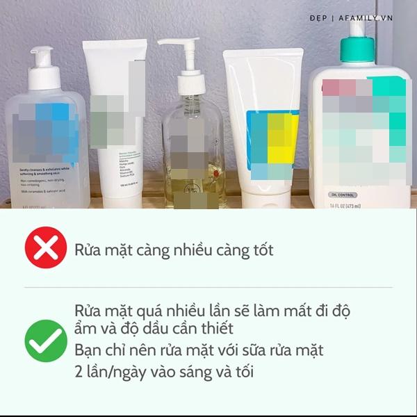 6 sai lầm khi rửa mặt khiến da dẻ thô ráp và lão hóa không phanh-6