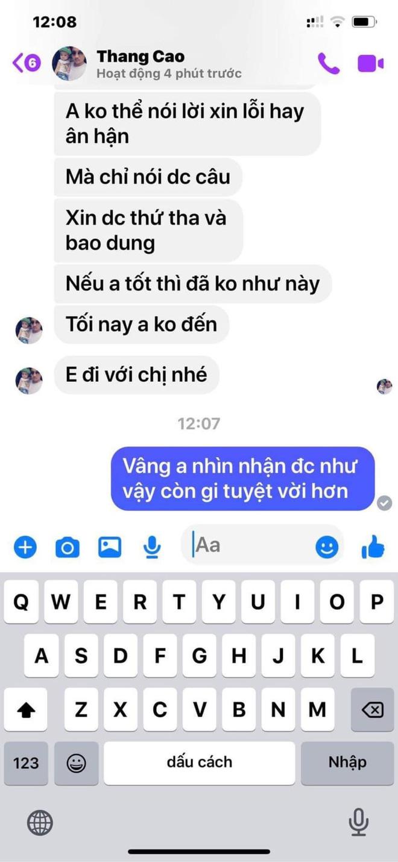 """Cô Xuyến"""" Hoàng Yến tung loạt tin nhắn thái độ khác 180 độ của chồng cũ thứ 4, hoá ra liên quan đến vụ ngoại tình 3 lần?-4"""