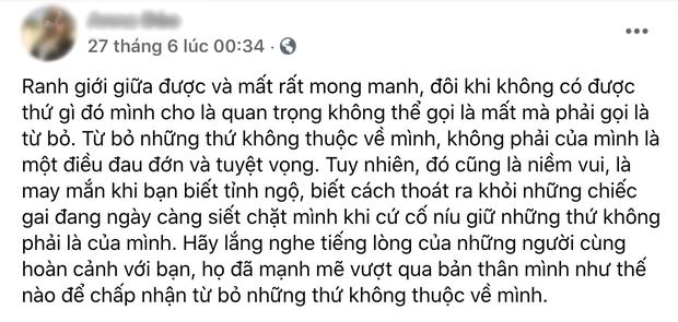 Cô Xuyến Hoàng Yến tung ảnh chồng cũ đưa con đi ăn với người tình, netizen soi Facebook cô gái thấy ngay status đá xéo?-4