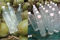 Nước dừa chỉ từ 35k/lít bán đầy chợ mạng, nổ đơn 'ầm ầm' mùa nắng nóng