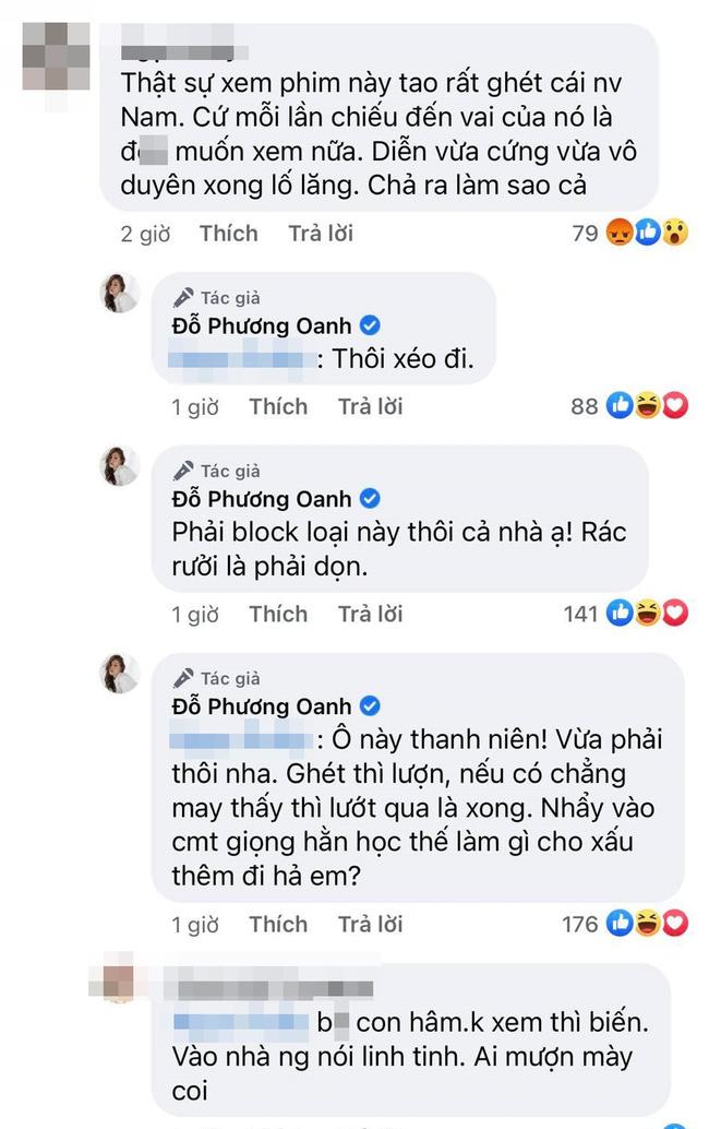 Phương Oanh Hương vị tình thân đáp trả xéo đi, rác rưởi khi bị anti-fan bình luận tục tĩu-2