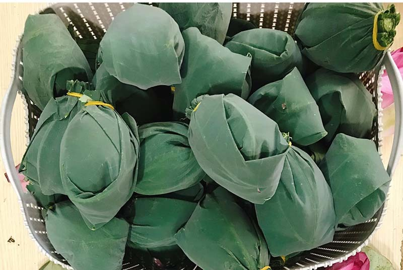 Đặc sản Hà thành năm chỉ có một mùa, mua trăm bông cất tủ dùng dần-5