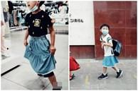 Bé trai bị bạn học tốc váy trong lớp và câu chuyện về cách giáo dục của cặp phụ huynh khiến nhiều người choáng váng lẫn nể phục