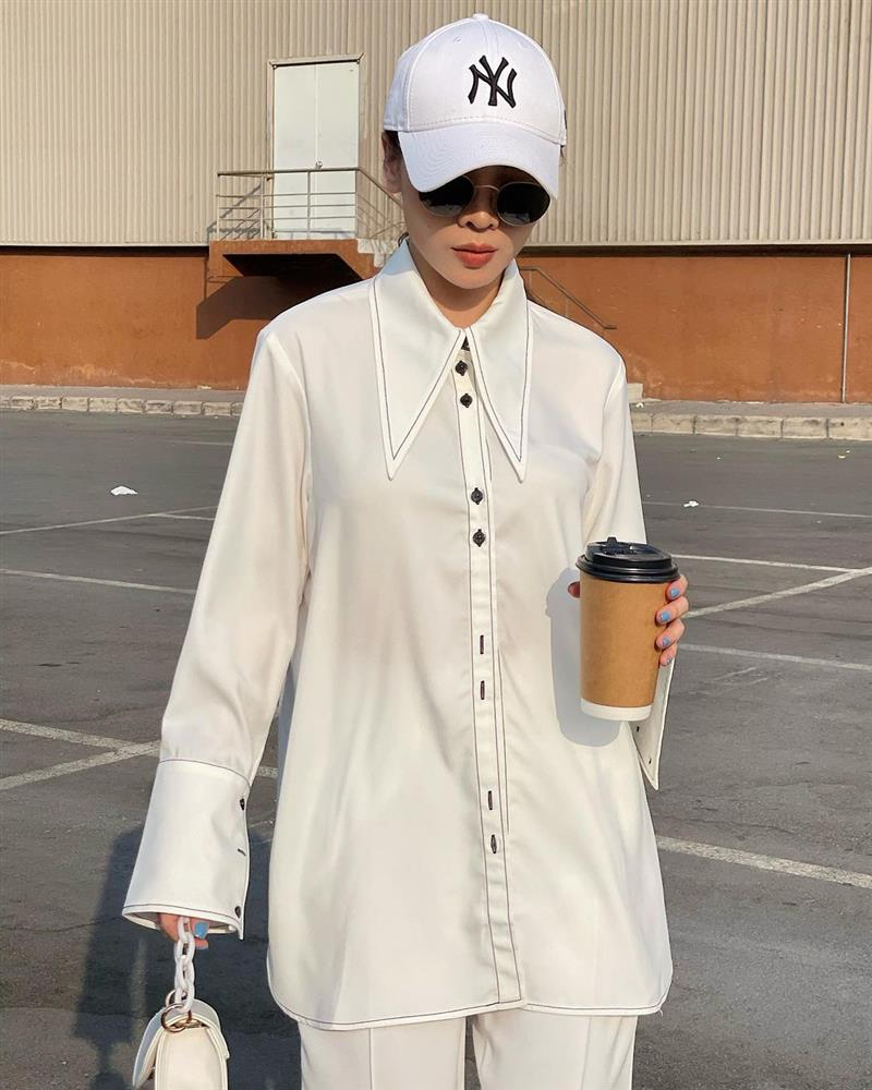 Mỹ nhân U40 diện áo sơ mi trắng: Hà Tăng luôn thanh lịch nhưng so với đàn chị thì lại thành an toàn quá?-8