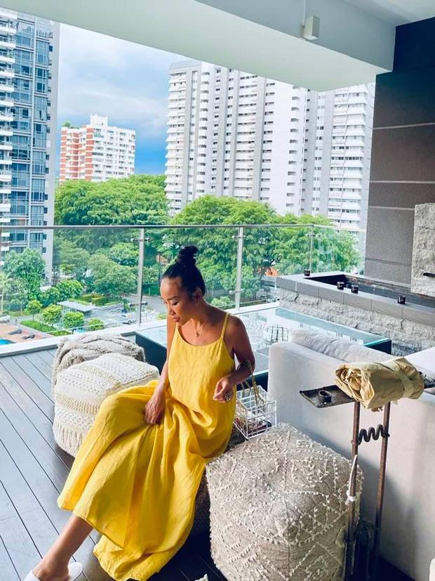 Đoan Trang hội ngộ gia đình Hoàng Oanh, lần đầu hé lộ nhiều ngóc ngách trong căn penthouse xịn xò tại Singapore-4