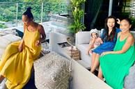 Đoan Trang hội ngộ gia đình Hoàng Oanh, lần đầu hé lộ nhiều ngóc ngách trong căn penthouse xịn xò tại Singapore