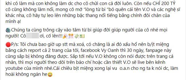 Vy Oanh tuyên bố sẽ cho bà Phương Hằng 400 tỷ với điều kiện... sốc óc-3