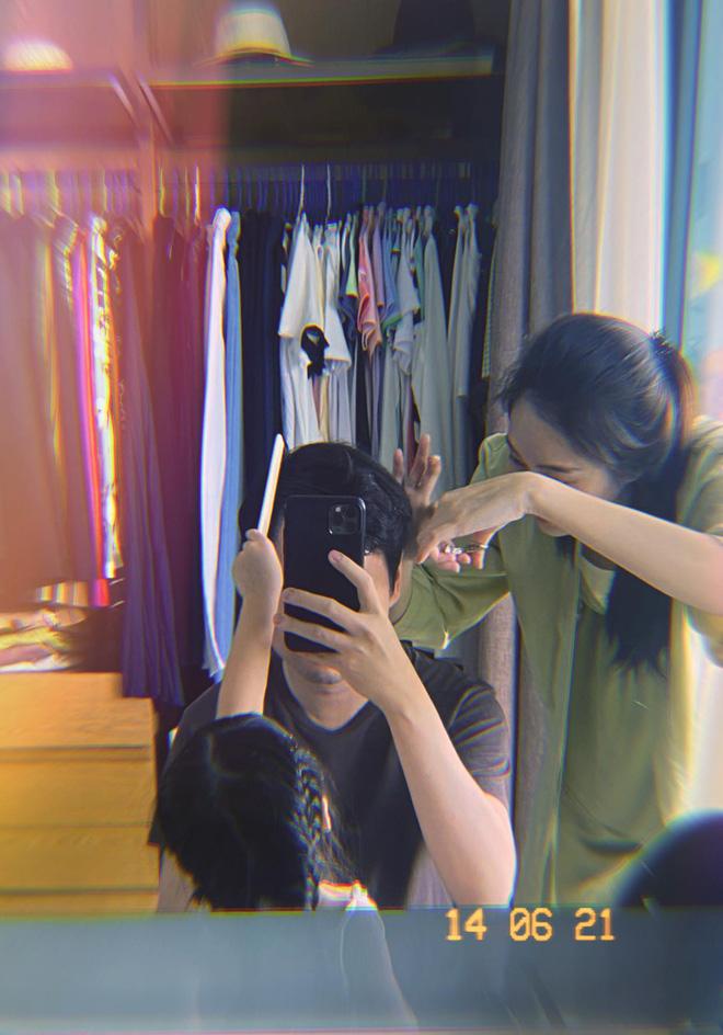 Đàm Thu Trang hoá thợ cắt tóc cho ông xã đại gia và cái kết khiến Cường Đô La giật mình-5