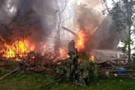 NÓNG: Máy bay chở 96 người rơi nổ tung ở Philippines, ít nhất 45 người thiệt mạng