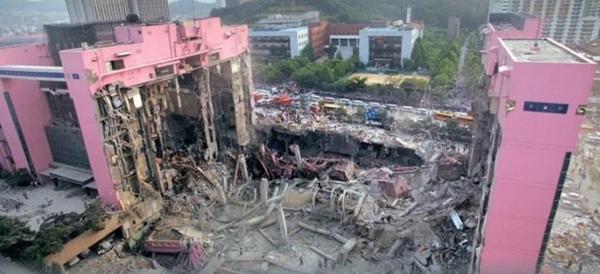 Vụ sập trung tâm thương mại rúng động Hàn Quốc 26 năm trước khiến hơn 500 người chết, ám ảnh nhất là nụ cười của bà dì ác ma-3