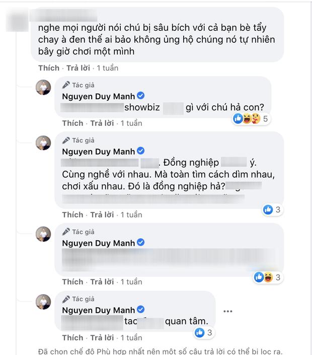 Nam ca sĩ vướng nghi vấn bị giới nghệ sĩ tẩy chay vì loạt phát ngôn tiêu cực về Vbiz, nói gì khi netizen mỉa mai chuyện chơi một mình?-1