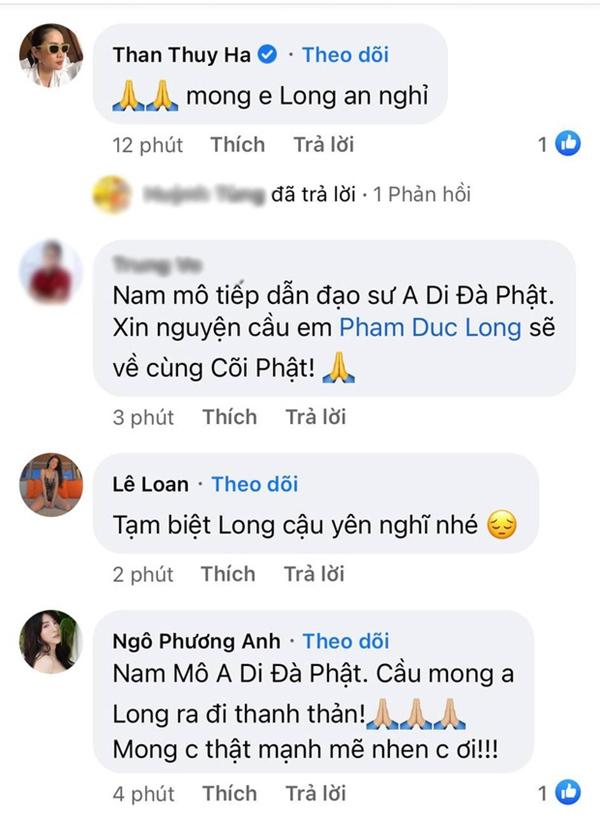 Cao Thái Hà, Lê Giang và dàn sao Việt bàng hoàng, xót xa khi nghe tin diễn viên Đức Long đột ngột qua đời-2