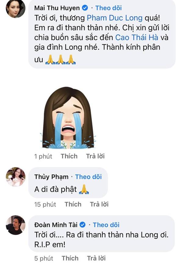 Cao Thái Hà, Lê Giang và dàn sao Việt bàng hoàng, xót xa khi nghe tin diễn viên Đức Long đột ngột qua đời-3