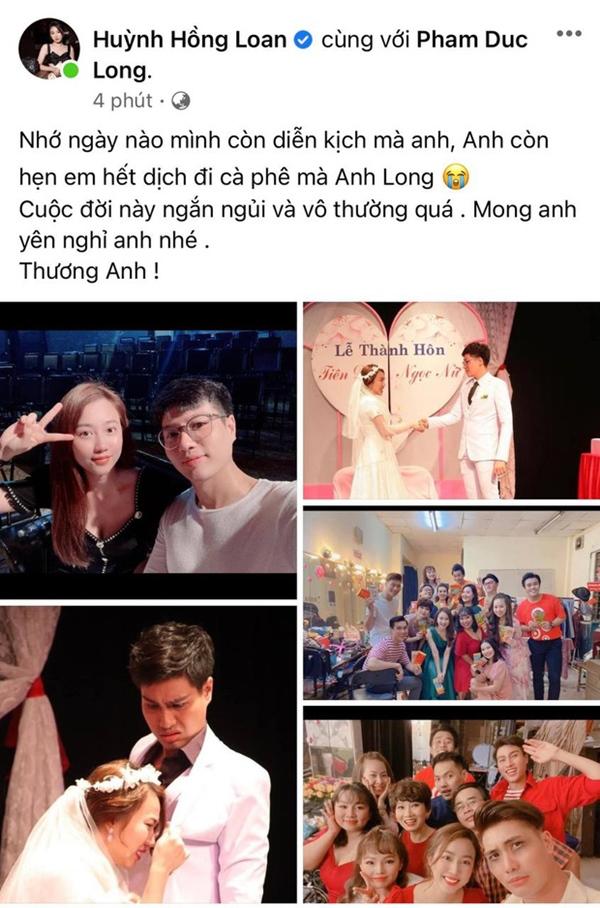 Cao Thái Hà, Lê Giang và dàn sao Việt bàng hoàng, xót xa khi nghe tin diễn viên Đức Long đột ngột qua đời-8