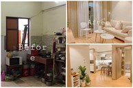 Cặp vợ chồng trẻ ở Hà Nội cải tạo căn hộ 65m² ẩm thấp, chật chội thành không gian đẹp vạn người mê với chi phí gây bất ngờ