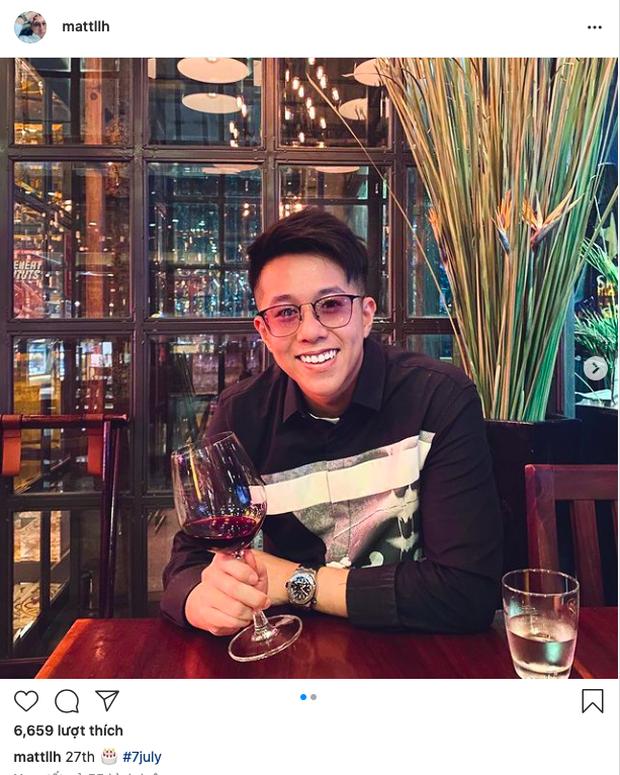 Đúng sinh nhật, Matt Liu tươi cười hạnh phúc tung ảnh cụng ly tình tứ bên ai kia, netizen lập tức gọi tên Hương Giang!-1
