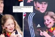 Bị chế nhạo vì khóc nức nở trên khán đài EURO 2020, bé gái được quyên tiền ủng hộ hơn 1 tỷ đồng và cái kết ấm lòng