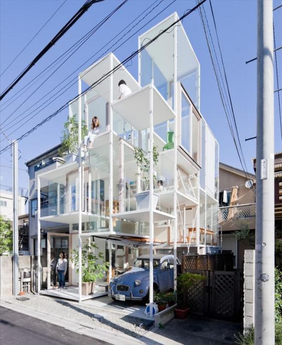 5 ngôi nhà có hình dáng kỳ lạ nhất thế giới, ai nhìn vào cũng tò mò muốn biết bên trong thế nào-1