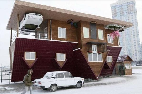 5 ngôi nhà có hình dáng kỳ lạ nhất thế giới, ai nhìn vào cũng tò mò muốn biết bên trong thế nào-4