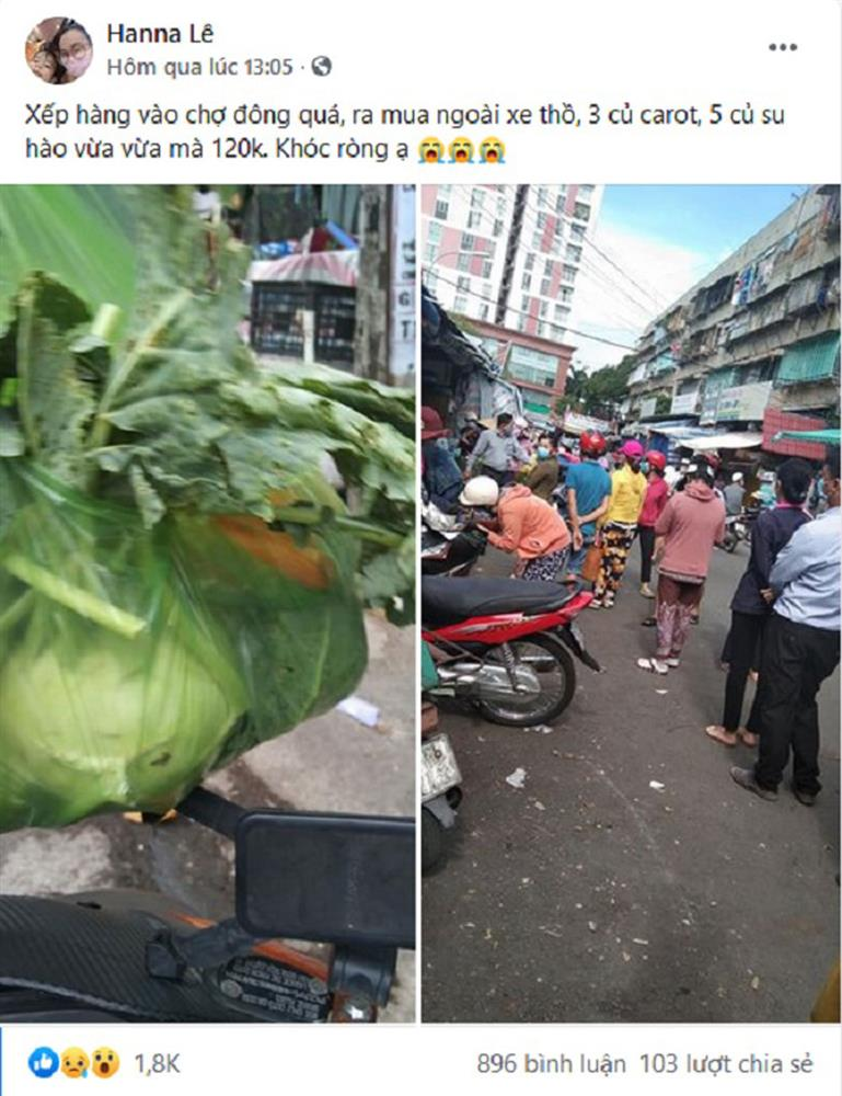 Sài Gòn trước cách ly: Rau xanh tăng dựng đứng, giá trứng lên gấp đôi-4