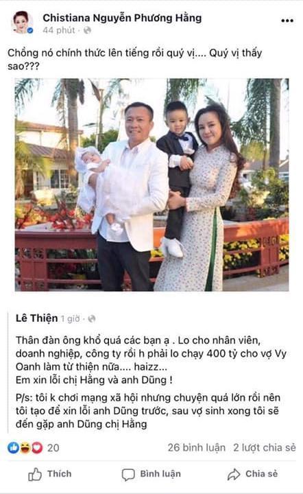 Chồng chơi Facebook thành thần, vì sao Vy Oanh phải nói dối?-2