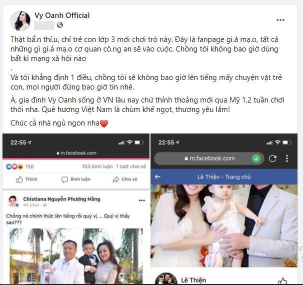 Chồng chơi Facebook thành thần, vì sao Vy Oanh phải nói dối?-4