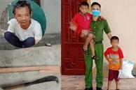 Giải cứu 2 cháu bé bị ông nội mắc bệnh tâm thần nhốt trong nhà rồi dùng dao cố thủ