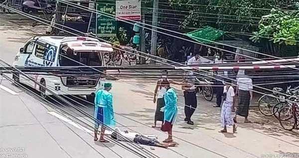 Myanmar tê liệt vì Covid-19: Số ca mắc kỷ lục, bệnh viện quá tải, bệnh nhân phát bệnh chết giữa đường-1