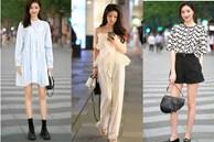 Street style Châu Á: Loạt quý cô khoe dáng với quần cạp cao nhưng vẫn có pha mặc lỗi