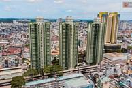 Cận cảnh toà nhà Thuận Kiều Plaza, nơi chuẩn bị được trưng dụng làm bệnh viện dã chiến điều trị Covid-19