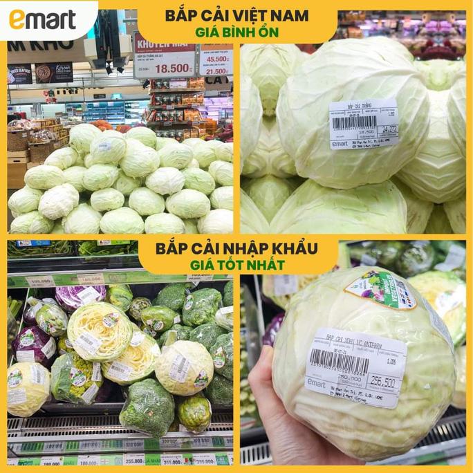 Thực hư siêu thị bán bắp cải 250.000 đồng/kg trong mùa dịch-1