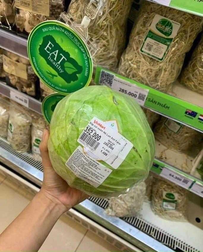 Thực hư siêu thị bán bắp cải 250.000 đồng/kg trong mùa dịch-2