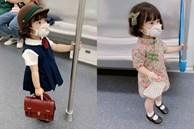 Sự thật ngã ngửa về bức ảnh bé gái Nhật Bản 'đã xinh xắn còn hiểu chuyện' nhường ghế trên tàu điện ngầm gây xôn xao mạng xã hội xứ Trung