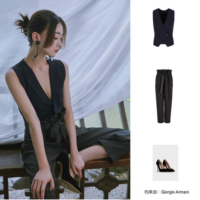 Visual của Ngô Cẩn Ngôn thăng hạng nhờ kiểu tóc mới, diện đồ đơn giản đi fashion show vẫn đẹp ngút ngàn-10