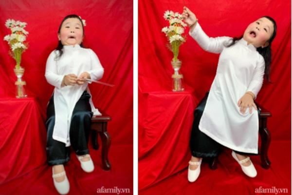 Cô bé thánh hài lại gây sốt mạng với bộ ảnh áo dài có 1-0-2, bố mẹ chỉ mong con có khoảnh khắc dịu dàng mà khó quá!-3