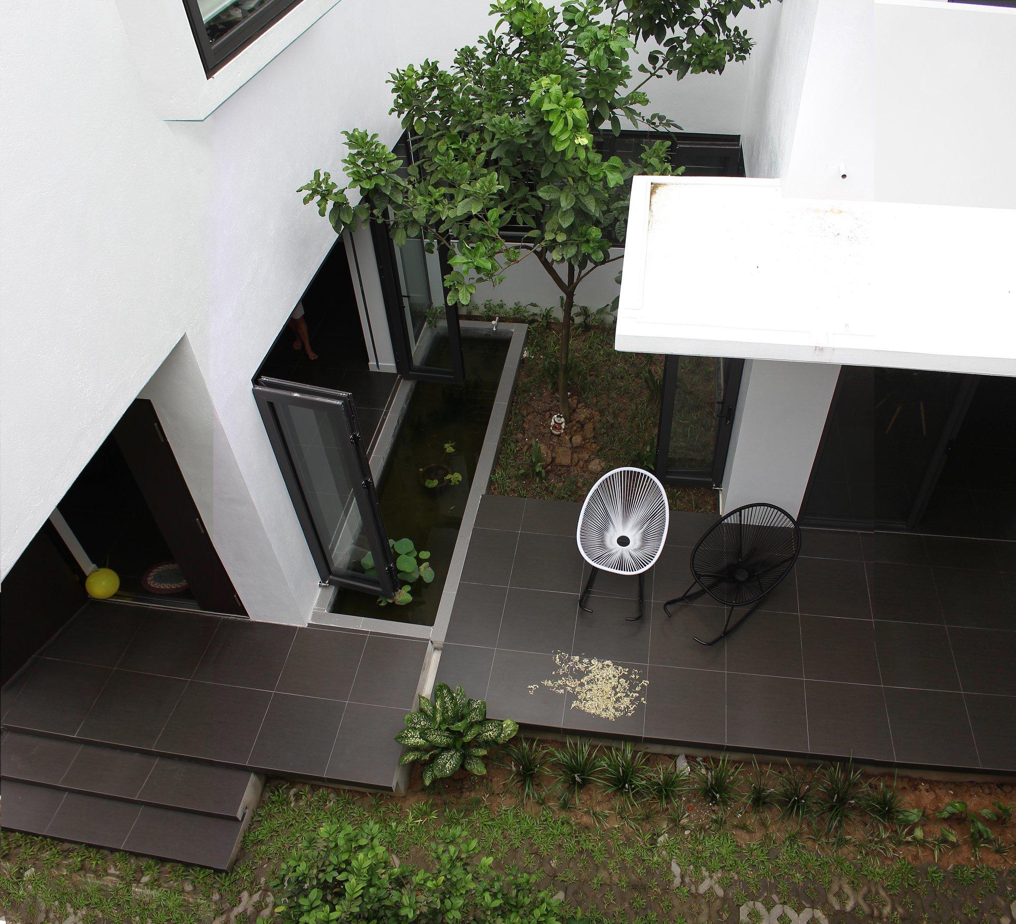 Ngẩn ngơ trước khu vườn bí mật trong ngôi nhà màu trắng ở Hải Phòng-8