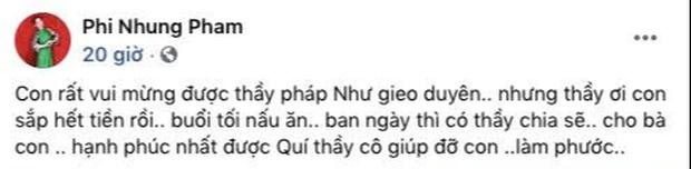 Phi Nhung bỗng than hết tiền hậu 1 tháng ồn ào với Hồ Văn Cường: Chuyện gì đây?-1