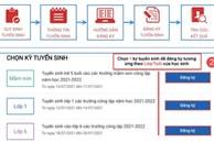 12/7 bắt đầu tổ chức tuyển sinh trực tuyến lớp 1 và lớp 6: Sở GD-ĐT Hà Nội đưa ra tài liệu hướng dẫn chi tiết