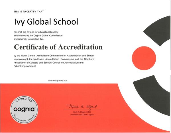 Trường quốc tế Mỹ trực tuyến Ivy Global đạt kiểm định toàn diện-1