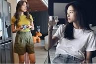 Ngô Thanh Vân rất chăm diện áo thun, nhưng có kiểu nàng 30+ không nên copy vì dễ thành 'cưa sừng làm nghé'