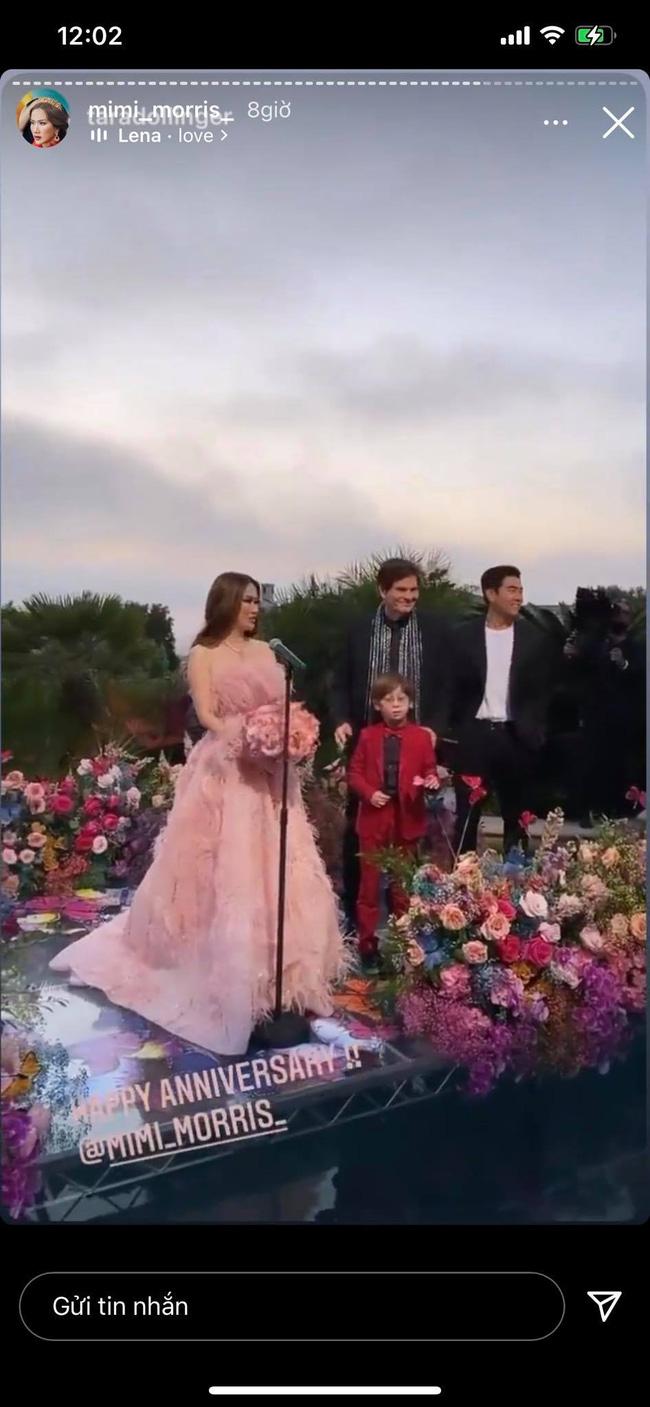 Nữ tỷ phú người Việt ở Mỹ từng được Hà Hồ, Vũ Khắc Tiệp tới thăm tổ chức sinh nhật trải toàn hoa hồng đắt đỏ không thua gì đám cưới hoàng gia-3