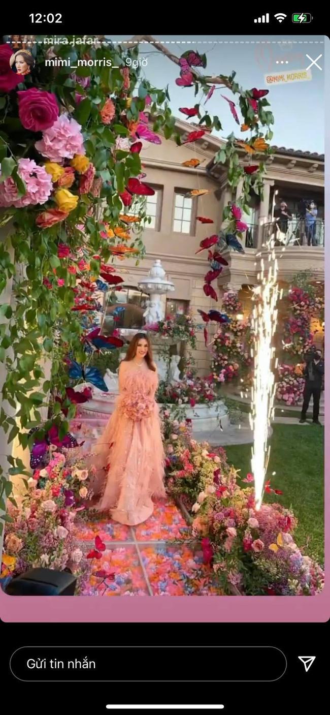 Nữ tỷ phú người Việt ở Mỹ từng được Hà Hồ, Vũ Khắc Tiệp tới thăm tổ chức sinh nhật trải toàn hoa hồng đắt đỏ không thua gì đám cưới hoàng gia-2