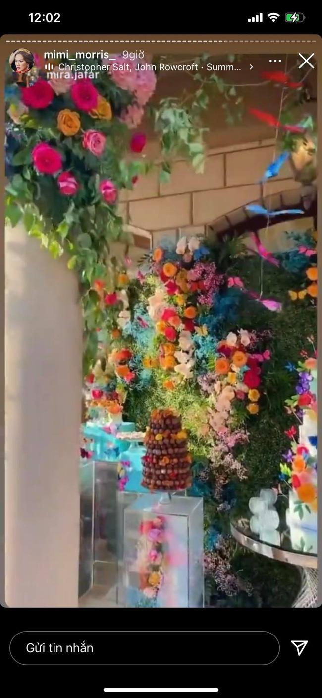 Nữ tỷ phú người Việt ở Mỹ từng được Hà Hồ, Vũ Khắc Tiệp tới thăm tổ chức sinh nhật trải toàn hoa hồng đắt đỏ không thua gì đám cưới hoàng gia-6
