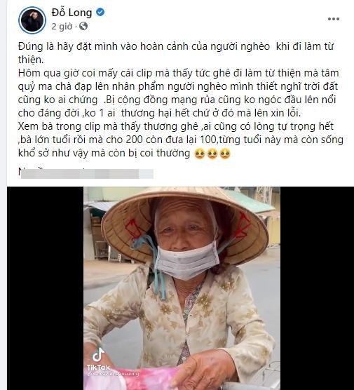 Sao Việt lên án đã từ thiện thì đừng phân biệt sang hèn-6