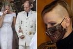 Công nương Monaco như thả rông tại đám cưới Hoàng gia: Diện bộ đầm ý nghĩa nhưng lại cắt khoét đúng chỗ hiểm-9