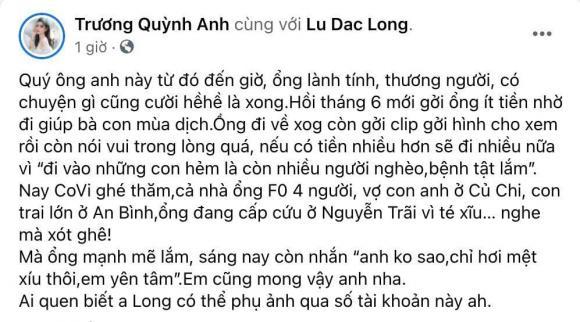 Cả gia đình nam diễn viên Vbiz nhiễm Covid-19, hoàn cảnh hiện tại khiến dàn sao Việt xót xa-4