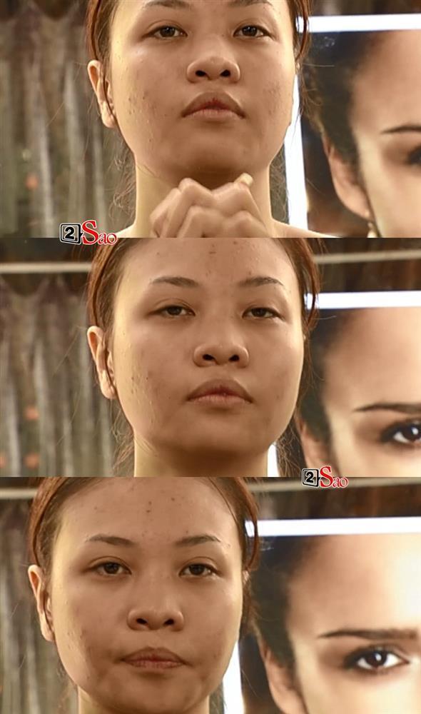 Ngỡ ngàng ngã ngửa mặt mộc Phạm Hương - Đàm Thu Trang - Diệp Lâm Anh-8